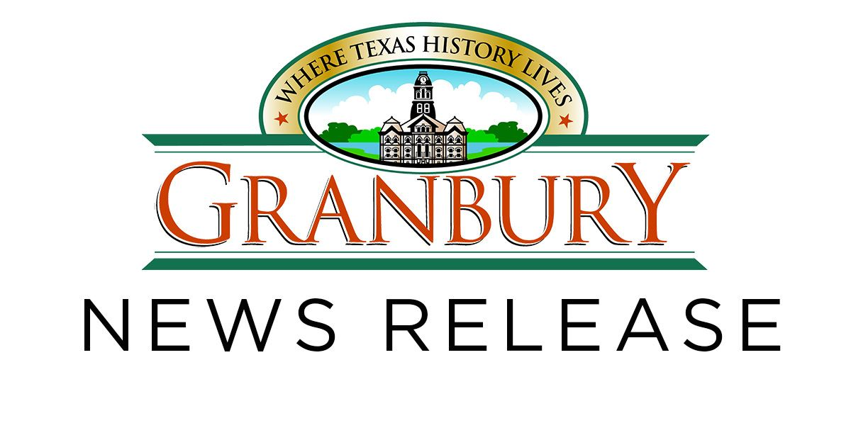 Granbury News Release Graphic