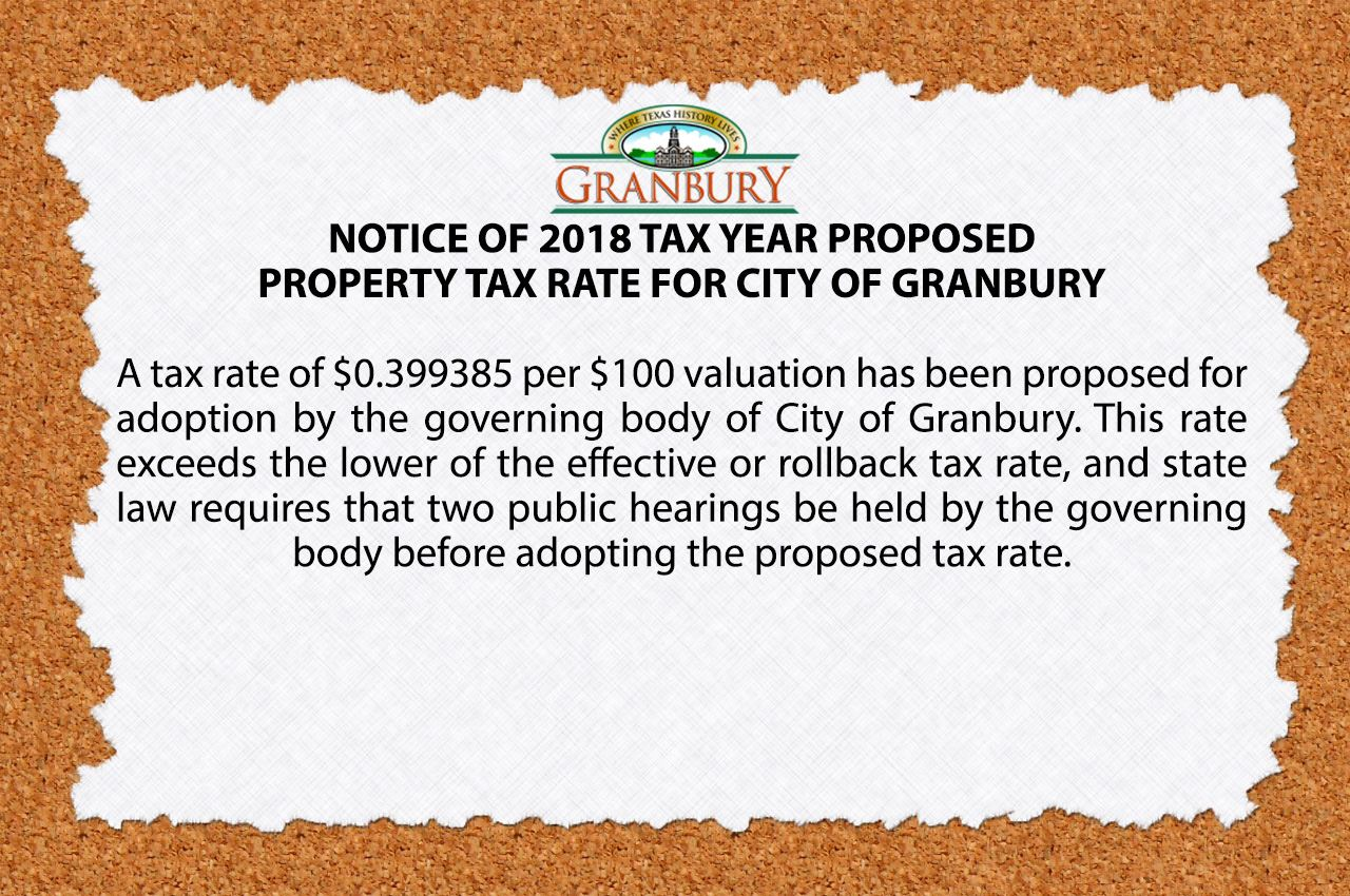 tax rate notice slide 1 2018